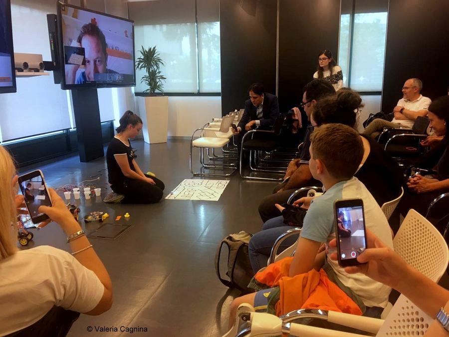 Valeria Cagnina speaker a Cisco Milano robot
