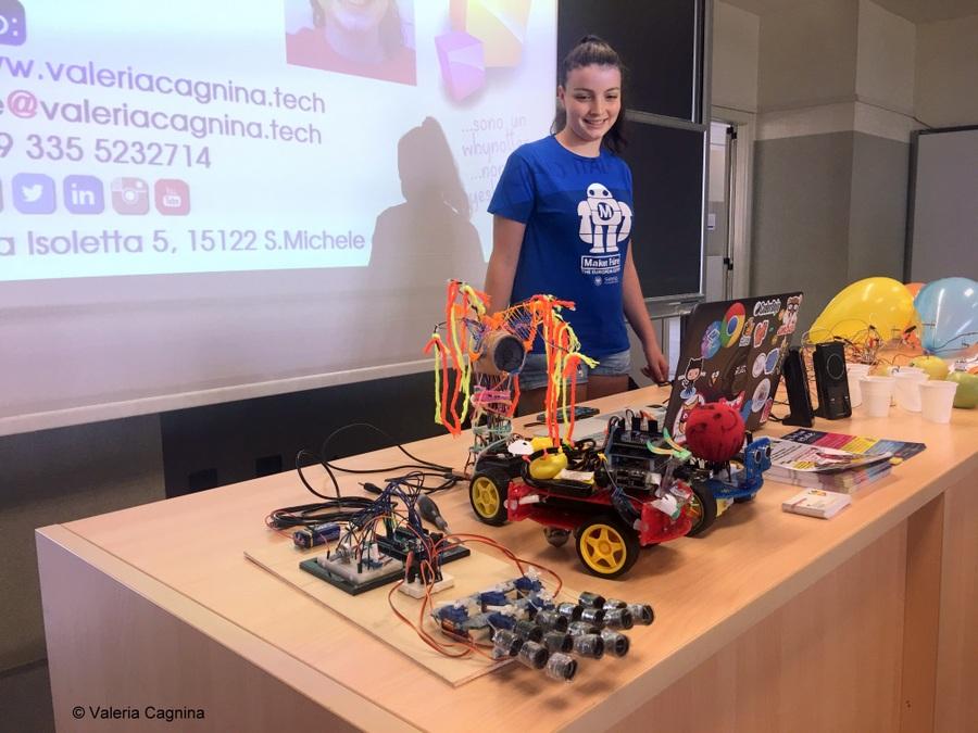 I miei robot a Modena valeria cagnina