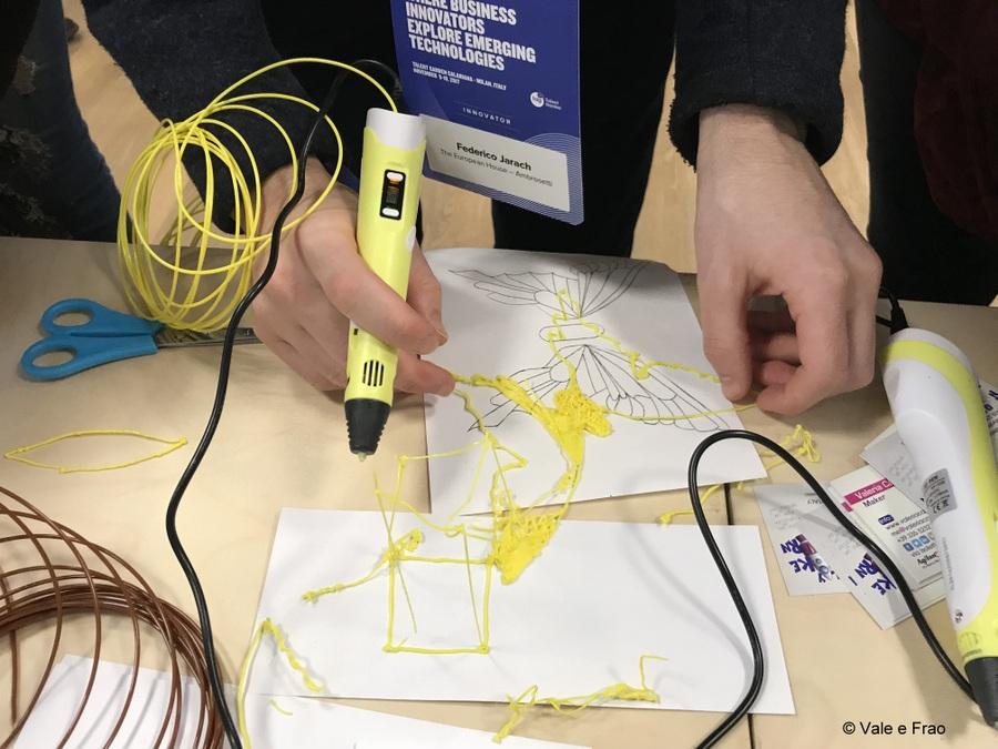 speaker futureland tag milano evento valeria cagnina workshop penna 3d