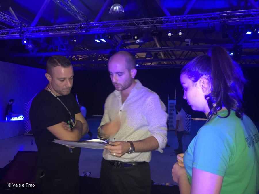 speaker futureland tag milano evento valeria cagnina regista e luci