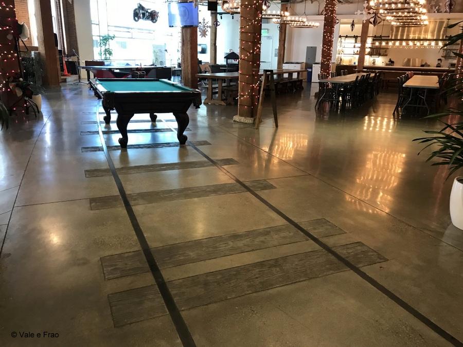 Visitare gli uffici di Github a San Francisco California i binari della stazione