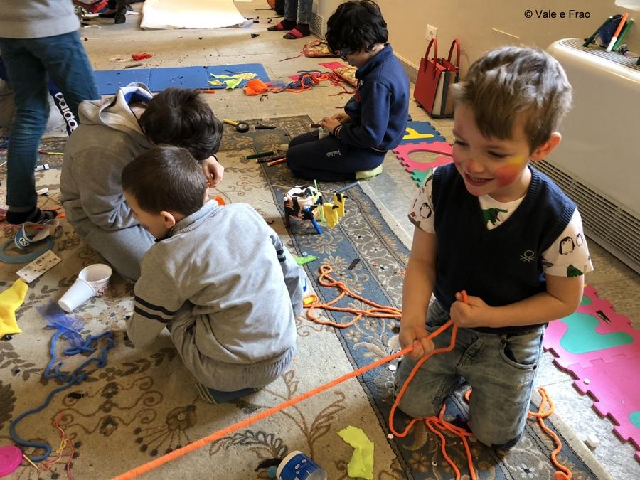 Laboratori di robotica per bambini al museo di Asti led