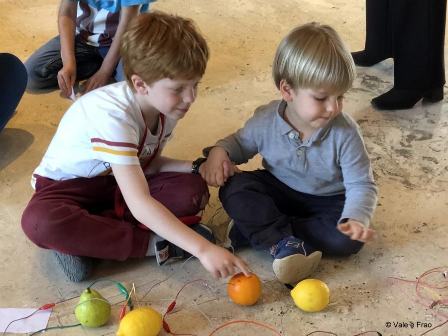 Festival delle scienze di National Geographic a Roma. bambini e ragazzi dreamers