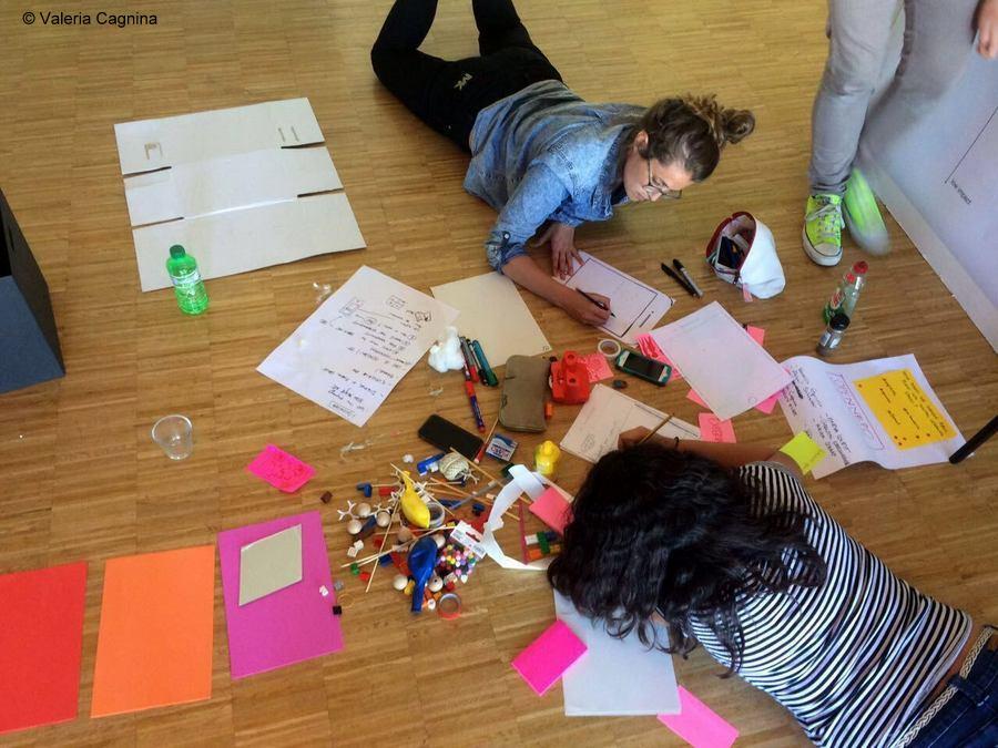 Design Thinking e Service Design alla Jam di Monaco lavori in team