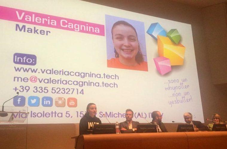 Valeria Cagnina speaker alla maratona digitale