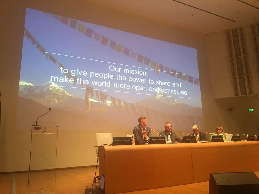 Valeria Cagnina speaker alla maratona digitale con Alberto Mazzieri di Facebook Italia