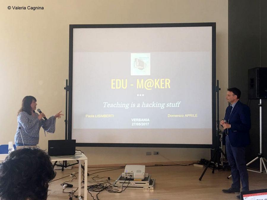 verbania innovazione paola lisimberti e mimmo aprile col progetto edumaker
