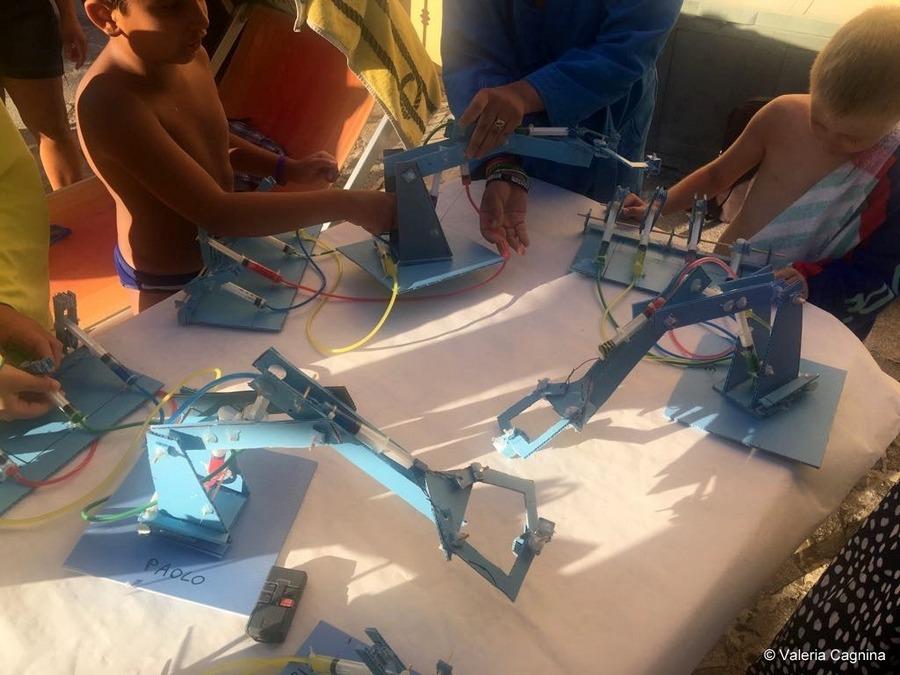 my robotics summer camps in alessandria valeria cagnina
