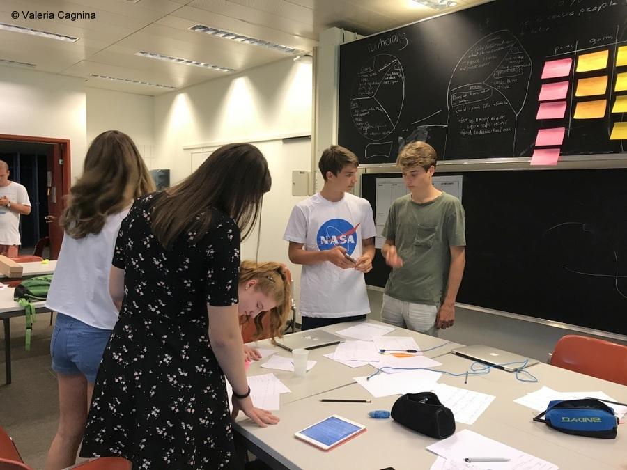A Losanna come mentor in un summer camp di imprenditoria epfl politecnico