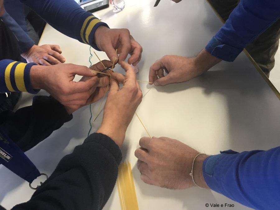 Formazione e team building in azienda: Michelin spaghetti
