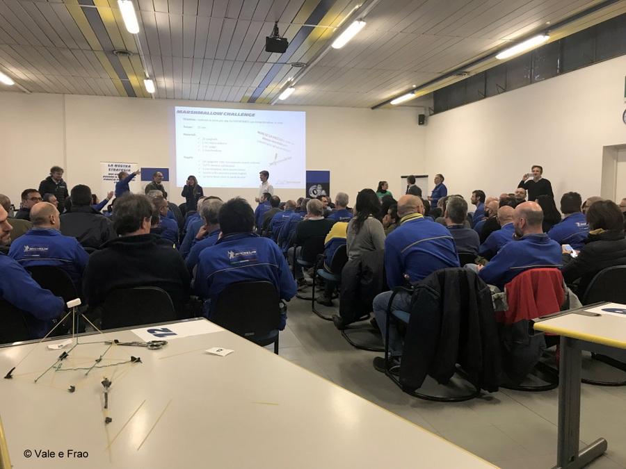 Formazione e team building in azienda: Michelin evento