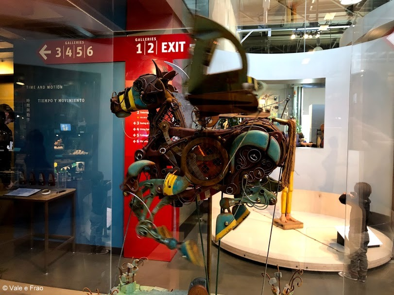 visitare Exploratorium il museo della scienza di San Francisco California installazioni