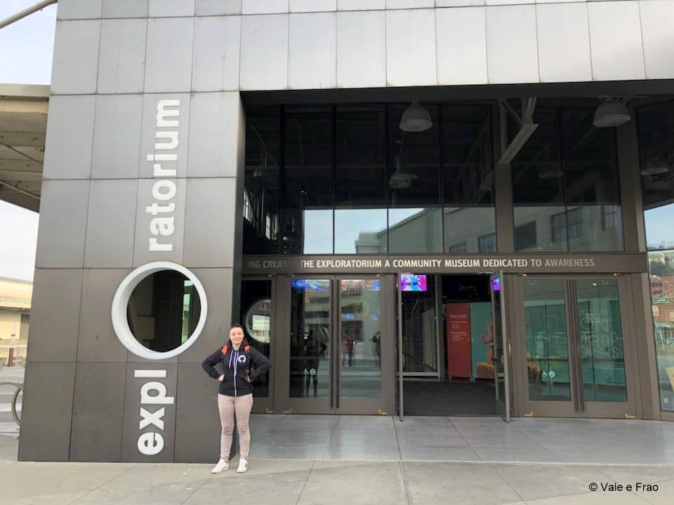 visitare Exploratorium il museo della scienza di San Francisco California ingresso