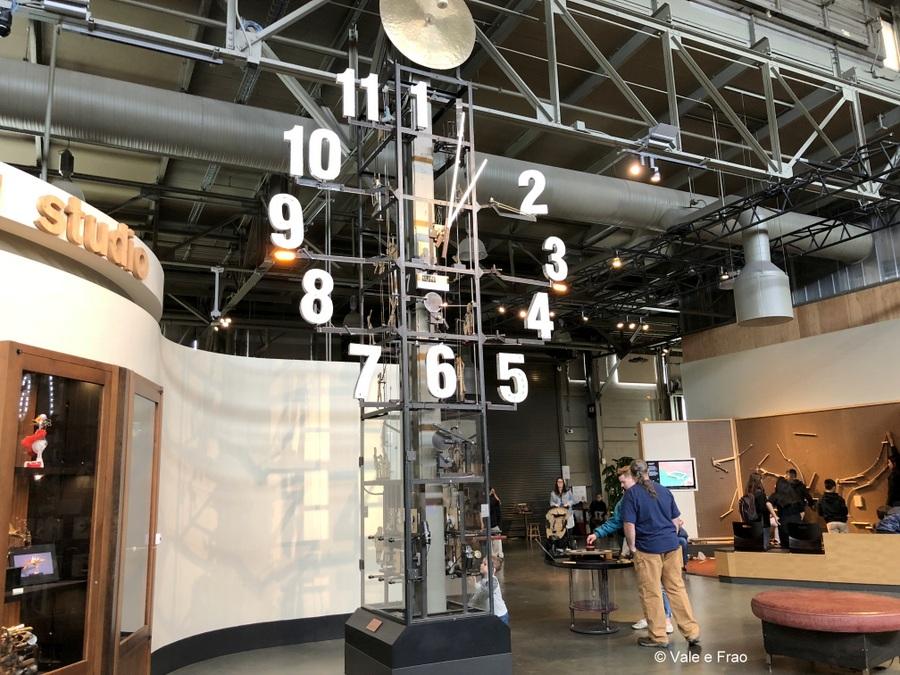 visitare Exploratorium il museo della scienza di San Francisco California prima area