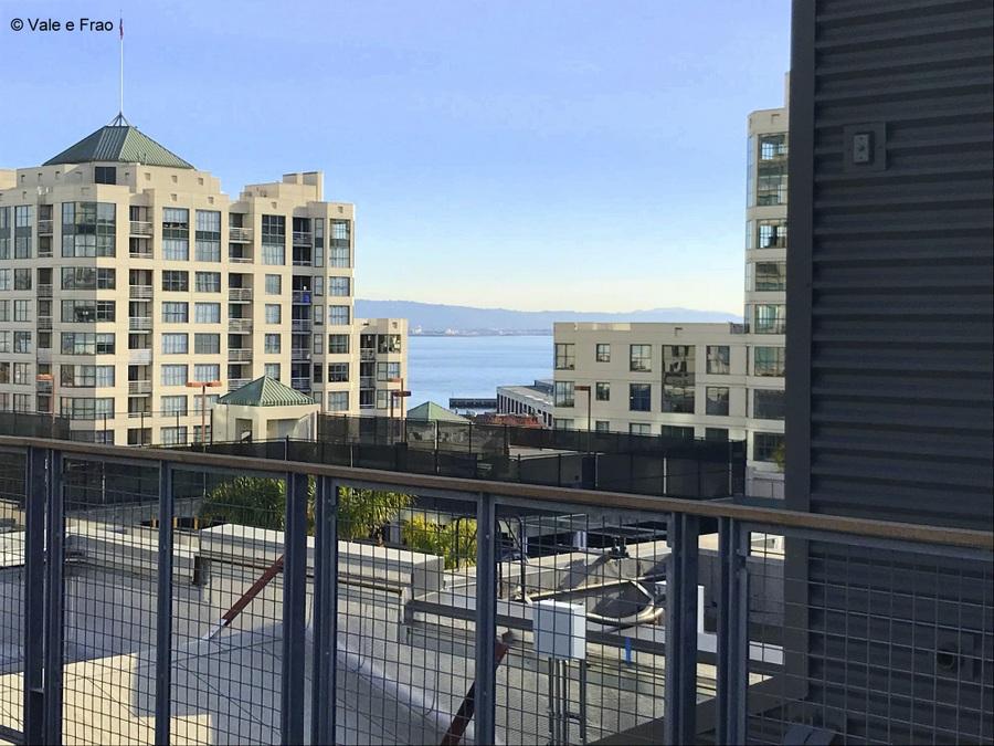 Visitare gli uffici di Github a San Francisco California vista sulla baia