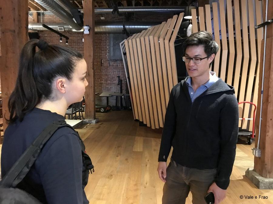 Visitare gli uffici di Github a San Francisco California la visita con Craig