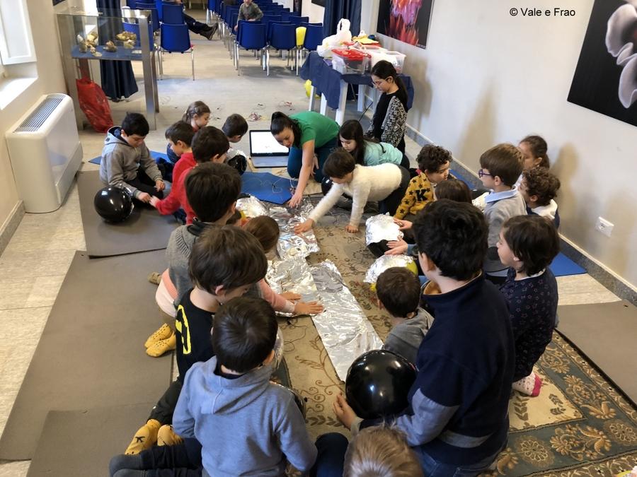 Laboratori di robotica per bambini al museo di Asti MakeyMakey