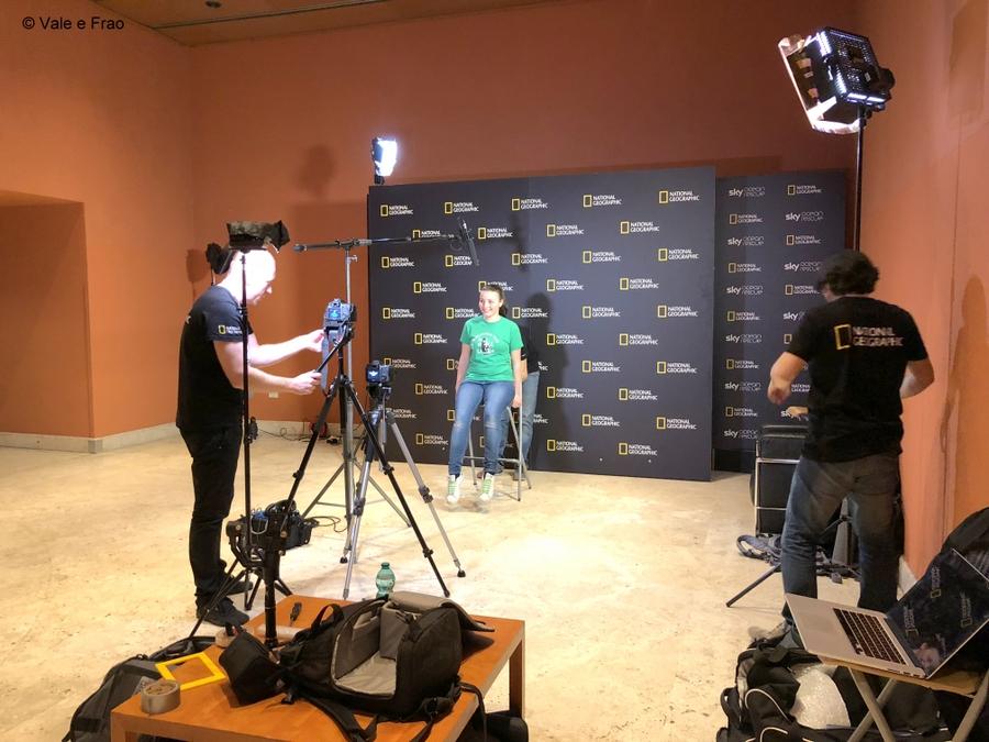 Festival delle scienze di National Geographic a Roma. valeria cagnina intervista